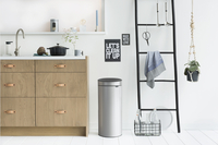 Brabantia Poubelle Touch Bin New metallic grey 30 l-Image 1