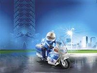 PLAYMOBIL City Action 6923 Politiemotor met LED-licht-Afbeelding 1