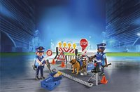 Playmobil City Action 6924 Politiewegversperring-Afbeelding 1
