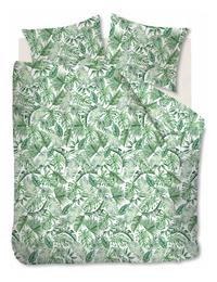 Ambiante Dekbedovertrek Monstera green katoen 260 x 220 cm-Vooraanzicht