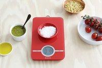Brabantia digitale keukenweegschaal Essential rood -Afbeelding 1