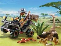 Playmobil Wild Life 6939 Braconnier avec quad-Image 1