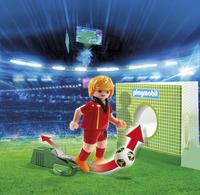 Playmobil Sports & Action 6897 Voetbalspeler België-Afbeelding 1