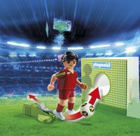 Playmobil Sports & Action 6899 Voetbalspeler Portugal-Afbeelding 1