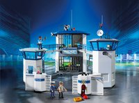PLAYMOBIL City Action 6919 Commissariat de police avec prison-Image 1