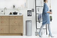 Brabantia Poubelle Touch Bin New metallic grey 30 l-Image 2