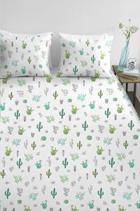 Ambiante Housse de couette Cactus green coton-Image 1