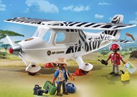 Playmobil Wild Life 6938 Avion avec explorateurs-Image 1