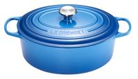 Le Creuset cocotte ovale Signature bleu Marseille 29 cm - 4,7 l