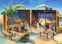 PLAYMOBIL Pirates 70150 Meeneem pirateneiland-Afbeelding 1