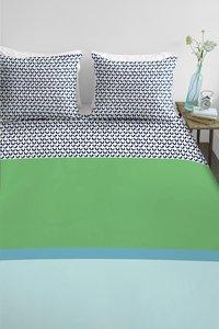 Ambiante Dekbedovertrek Mette green katoen-commercieel beeld