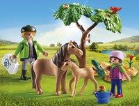 Playmobil Country 6949 Dierenarts met pony's-Afbeelding 1
