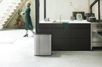 Brabantia Afvalemmer Touch Bin Bo matt steel fingerprint proof 2 x 30 l-Afbeelding 8