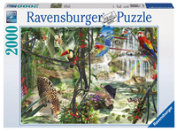 Ravensburger puzzel Jungle impressies