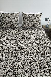Ambiante Housse de couette Leopard natural coton 260 x 220 cm-commercieel beeld