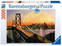 Ravensburger puzzel San Francisco bij nacht
