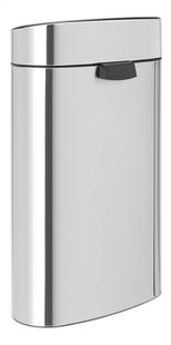 Brabantia Poubelle Touch Bin Next Recycle matt steel FPP 10/23 l-Arrière
