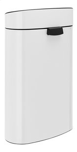 Brabantia Afvalemmer Touch Bin New white 40 l-Achteraanzicht