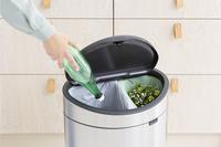 Brabantia Poubelle Touch Bin New Recycle matt steel 10 l + 23 l-Image 4