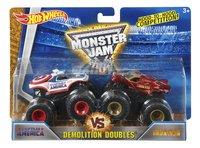 Hot Wheels Monster Truck Demolition Doubles Captain America VS Iron Man
