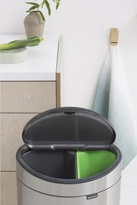 Brabantia Poubelle Touch Bin New Recycle matt steel 10 l + 23 l-Image 6