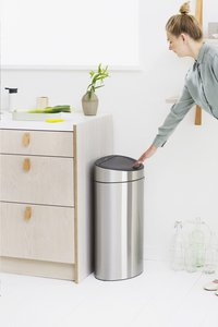 Brabantia Afvalemmer Touch Bin Next Recycle matt steel FPP 10/23 l-Afbeelding 7