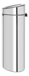 Brabantia Afvalemmer Touch Bin Recycle brilliant steel 10/23 l-Rechterzijde