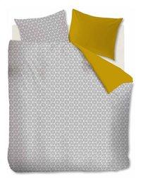 Ambiante Housse de couette Todd yellow coton 140 x 220 cm-Avant