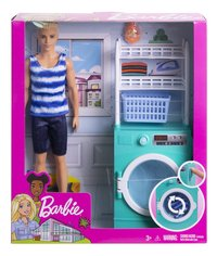 Barbie Ken et la machine à laver-Avant