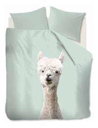 Ambiante Housse de couette Alpaca green coton-Avant