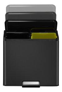 Eko Pedaalemmer Essential Recycler zwart 2 x 15 l-Artikeldetail