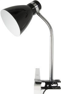 Clip On Lamp zwart