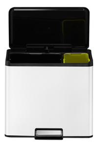 Eko Pedaalemmer Essential Recycler wit 9 l + 20 l-Artikeldetail