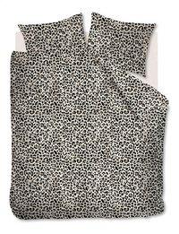 Ambiante Housse de couette Leopard natural coton 260 x 220 cm-Avant