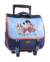 Trolley-boekentas Yo-Kai Watch Watch me blauw 38 cm