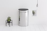 Brabantia Afvalemmer Touch Bin Recycle brilliant steel 10/23 l-Afbeelding 1