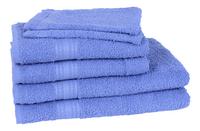 Jules Clarysse 6-delige handdoekenset Classic blauw