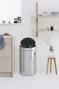 Brabantia Afvalemmer Touch Bin Recycle brilliant steel 10/23 l-Afbeelding 3