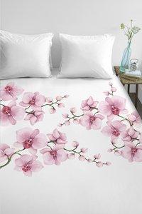 Ambiante Dekbedovertrek Carla pink katoen 200 x 220 cm-commercieel beeld