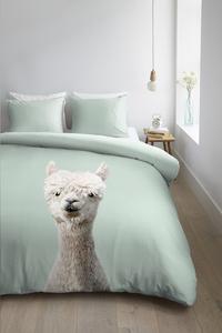 Ambiante Housse de couette Alpaca green coton-commercieel beeld