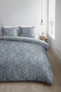 Ambiante Dekbedovertrek Leopard blue katoen 260 x 220 cm-Afbeelding 2