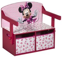 Banc 3 en 1 Minnie Mouse-Avant