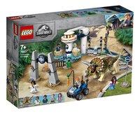 LEGO Jurassic World 75937 La fureur du Tricératops-Côté gauche