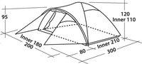 Easy Camp Trekkerstent Quasar 300 blauw-Artikeldetail