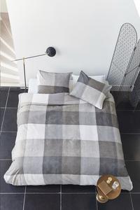Beddinghouse Housse de couette Jim taupe coton 260 x 220 cm-Image 3