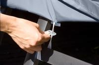 Housse de protection en polyester 2,85 x 2,05 m-Détail de l'article