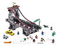 LEGO Super Heroes 76057 Spider-Man: Web Warriors ultiem brugduel-Vooraanzicht