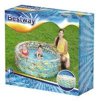 Bestway piscine pour enfants Tropical Ø 150 cm-Côté droit