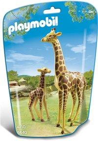 PLAYMOBIL City Life 6640 Girafe et girafon-Avant