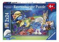 Ravensburger Puzzel 2-in-1 De Smurfen en het Verloren Dorp